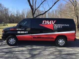 Home Inspector Duane Sewell's DMV Van