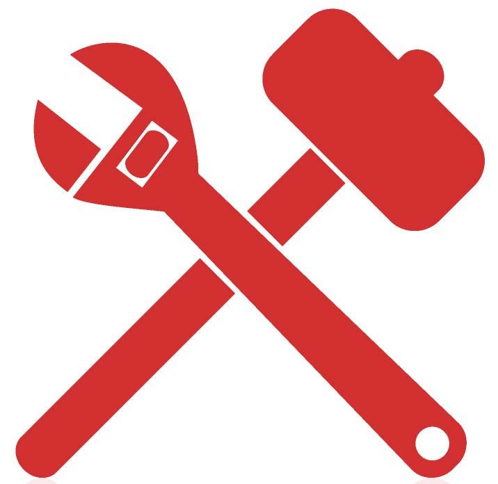 Maintenance tools icon