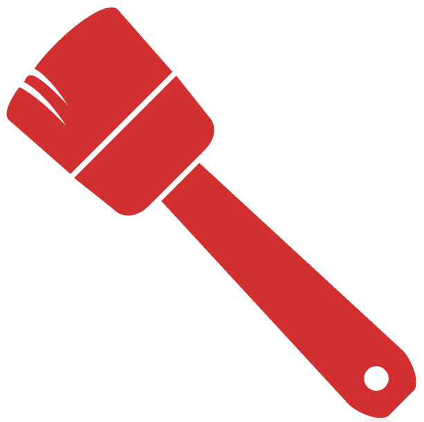 Pint brush icon